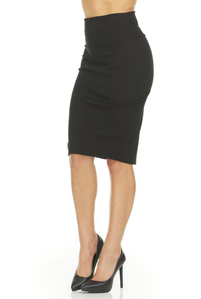 shopify-Fitted Pencil Skirt- 8 Colors-5