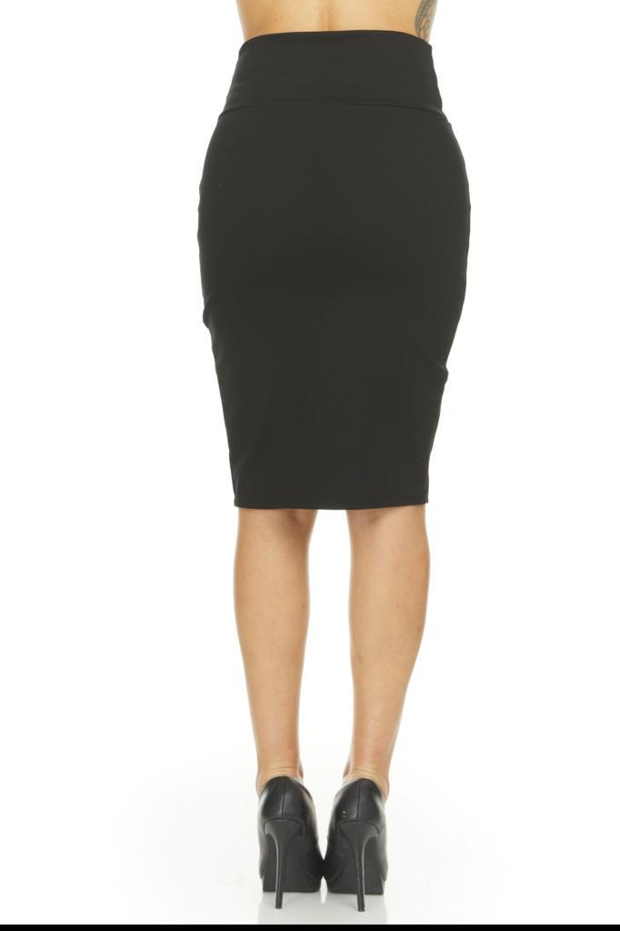 shopify-Fitted Pencil Skirt- 8 Colors-7