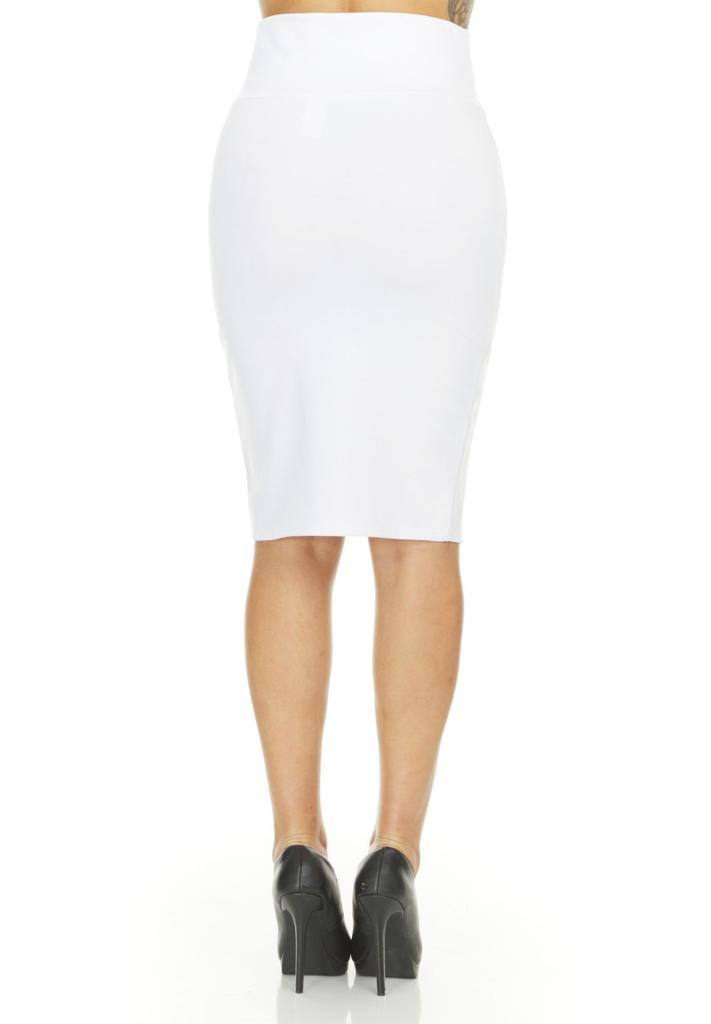 shopify-Fitted Pencil Skirt- 8 Colors-8