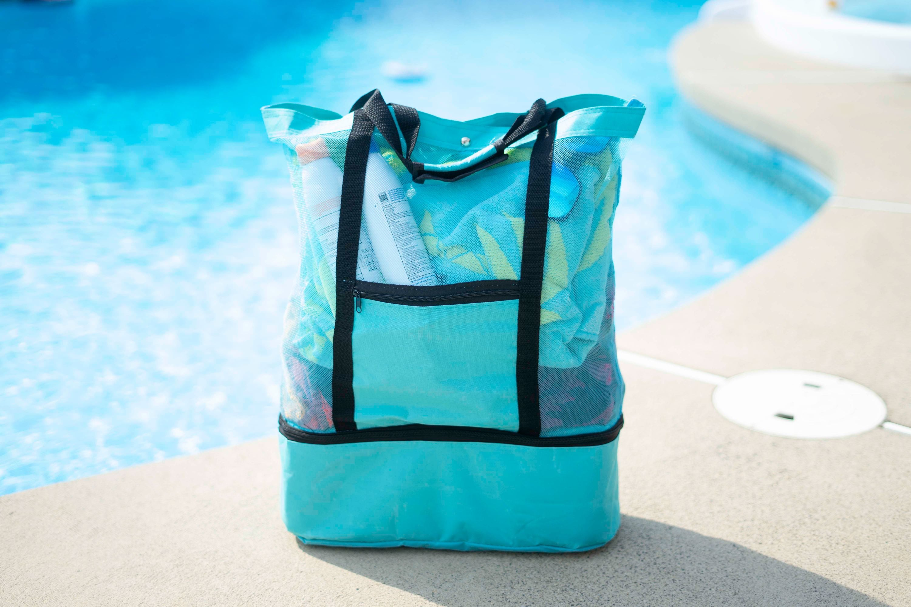 shopify-Insulated Cooler Picnic Beach Tote Bag-1