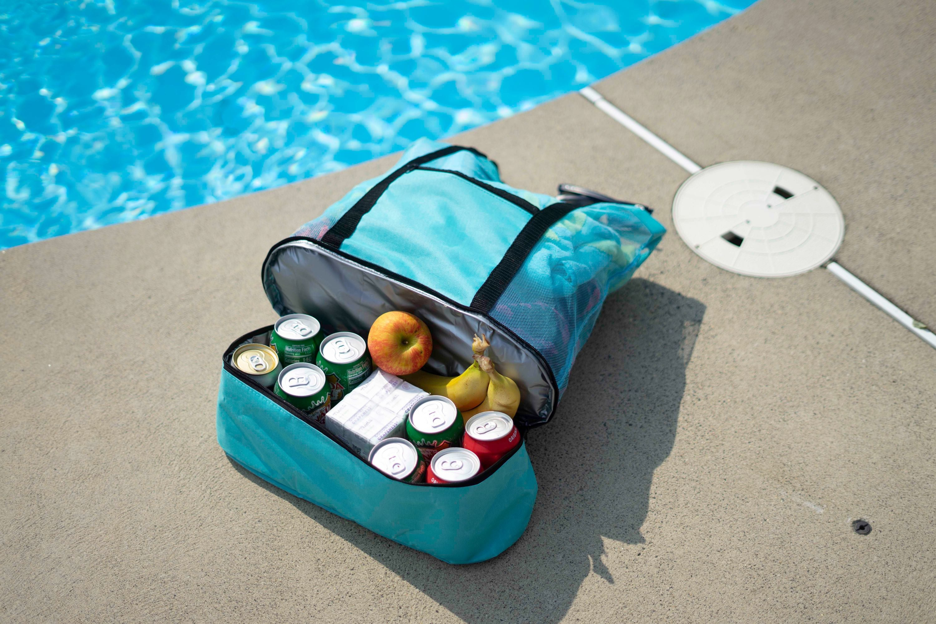 shopify-Insulated Cooler Picnic Beach Tote Bag-3