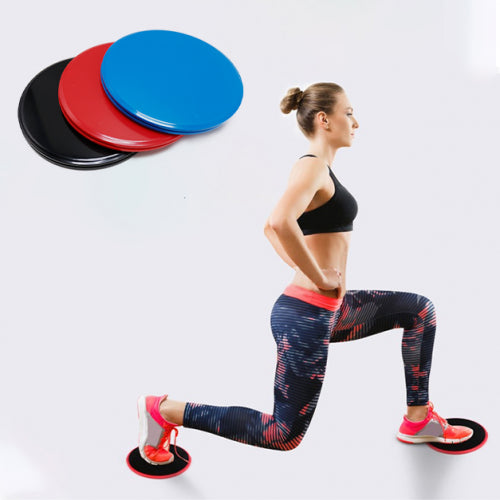 shopify-Sport Core Dual-Sided Exercise Gliding Disc & Non-Slip Yoga Stability Ball with Inflator-5