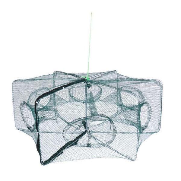 shopify-Hexagonal Foldable Automatic Fishing Net for Shrimp, Crab and Fish-2