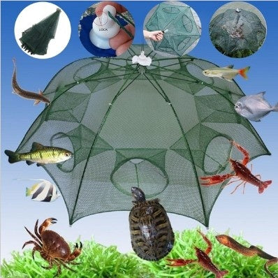 shopify-Hexagonal Foldable Automatic Fishing Net for Shrimp, Crab and Fish-3