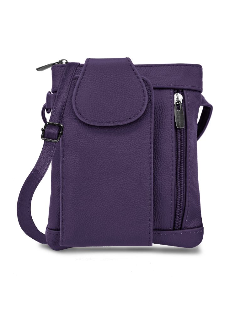 shopify-Mini Soft Leather Crossbody Wallet- 4 Colors-10