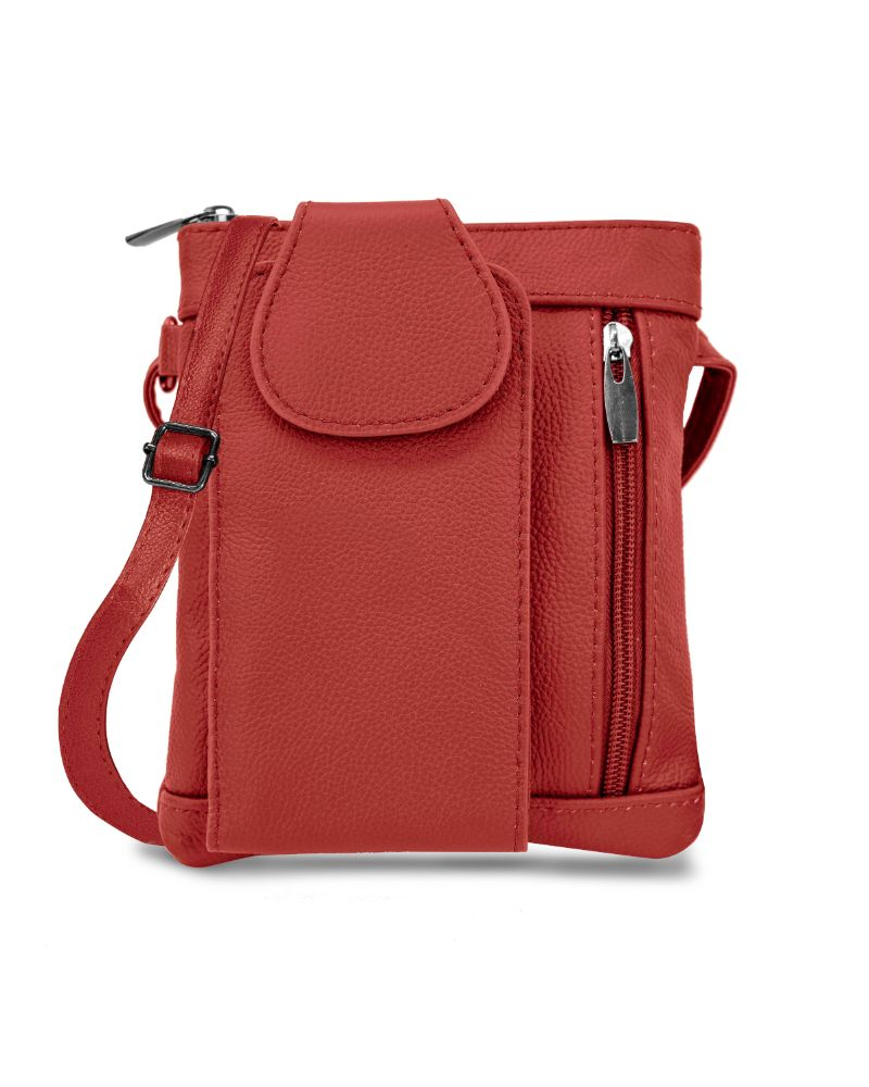 shopify-Mini Soft Leather Crossbody Wallet- 4 Colors-16