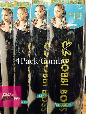 Bobbi Boss Jumbo Braiding Hair 3X