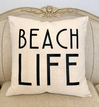 Load image into Gallery viewer, LAKE/BEACH LIFE PILLOW
