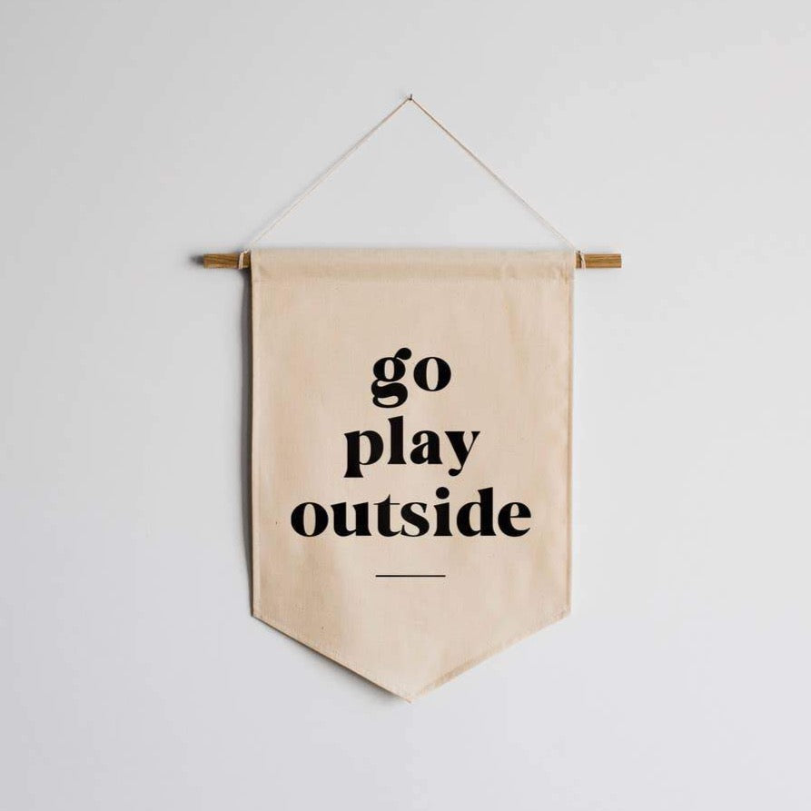 PLAY OUTSIDE BANNER