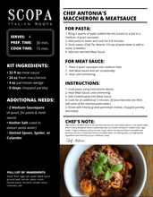 Load image into Gallery viewer, Maccheroni & Meat Sauce Family Pasta Dinner
