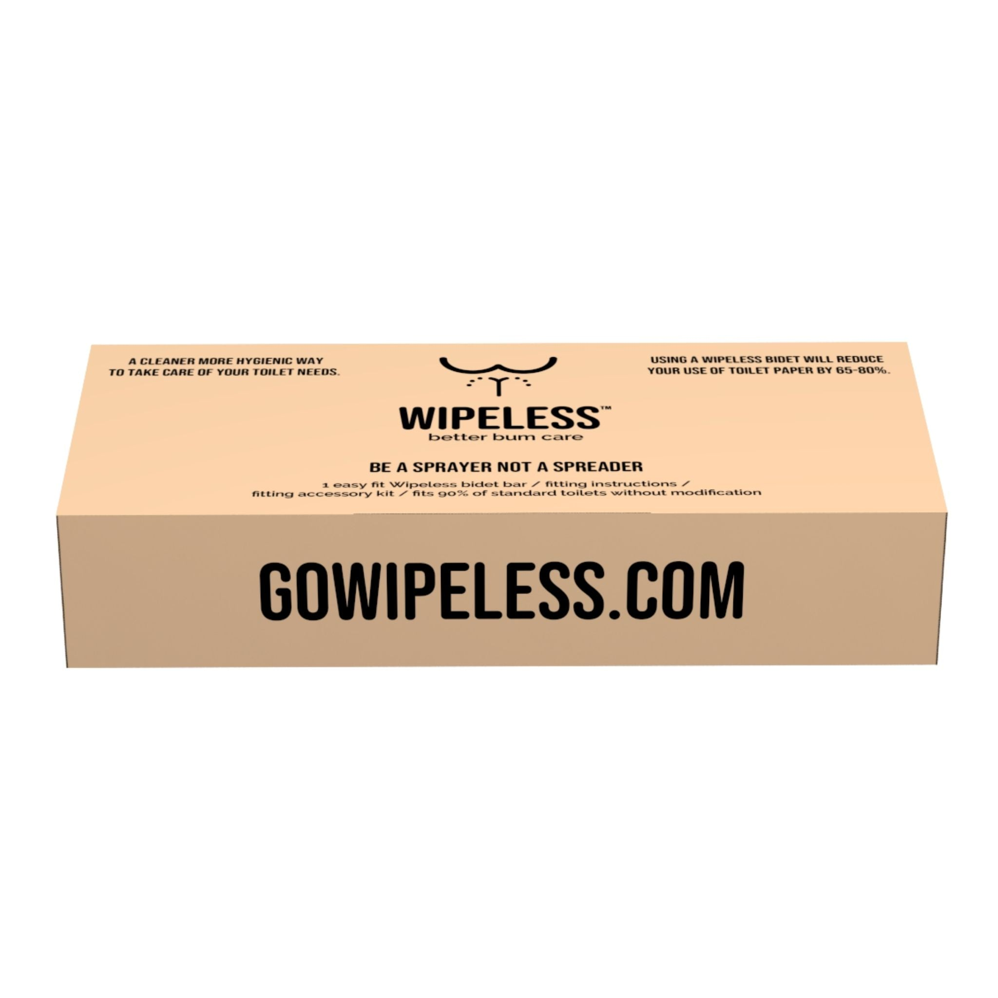 Wipeless GT Bidet Bar + Bambooloo Bundle