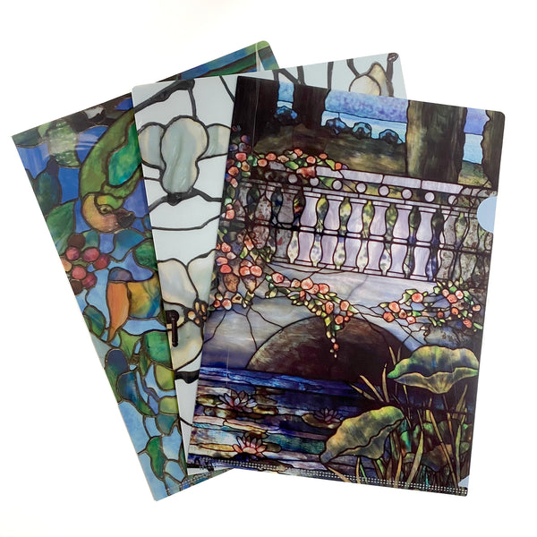 Louis Comfort Tiffany Decorative File Folders