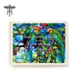 Louis Comfort Tiffany Parrot/Peacock Boxed Notecards