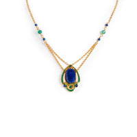 Arts and Crafts Lapis Necklace
