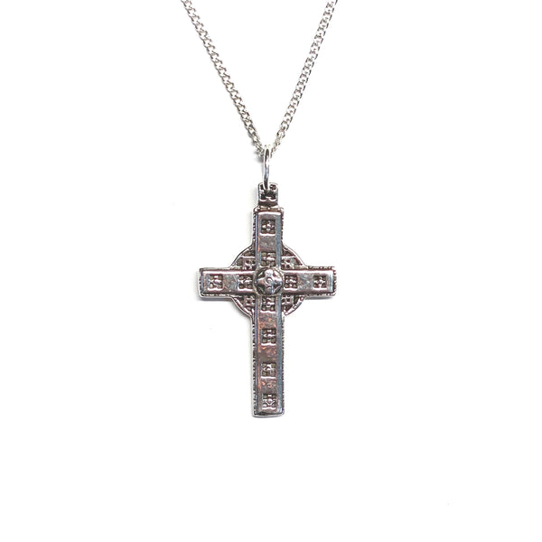 Chapel Door Cross Necklace