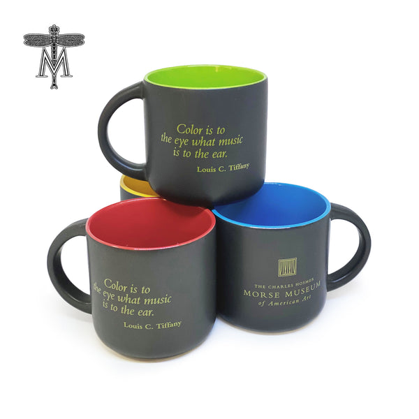 Louis Comfort Tiffany Quote Mugs