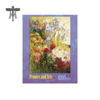 Louis Comfort Tiffany Peonies and Iris Puzzle