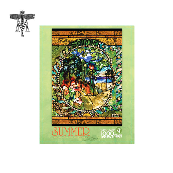 Louis Comfort Tiffany Summer Panel Puzzle
