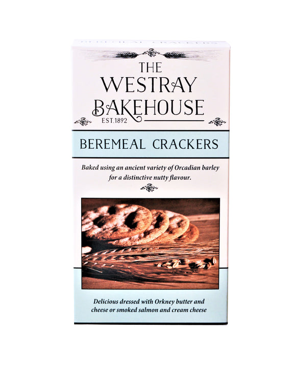 The Westray Bakehouse beremeal crackers