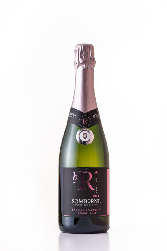 Somborne Valley English sparkling rose 2014
