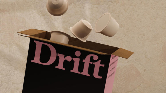 Drift speciality compostable coffee capsules