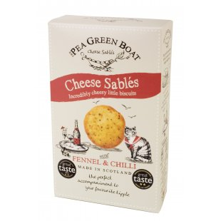 Fennel & chilli cheese sables