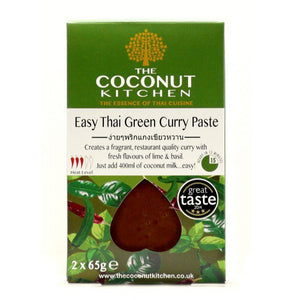 The coconut Kitchen Thai green curry paste