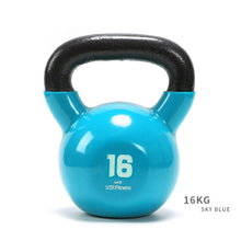 Load image into Gallery viewer, Cast Iron Vinyl Coated Kettlebells 4-16kg