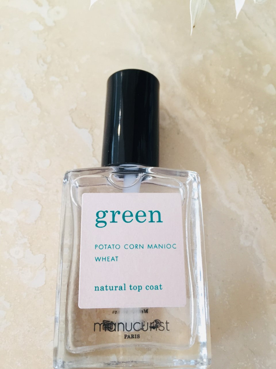 Green Neglelak Økologisk / Topcoat