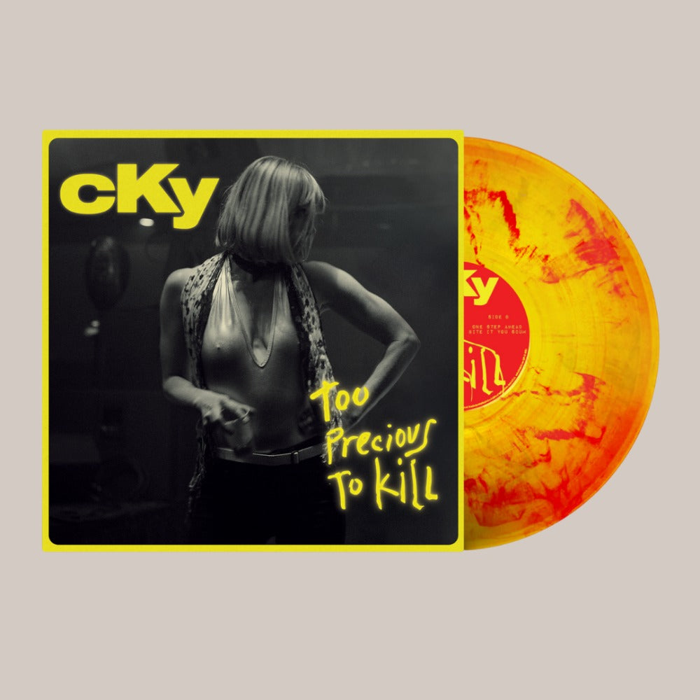 CKY - Too Precious To Kill - LP - Yellow/Red