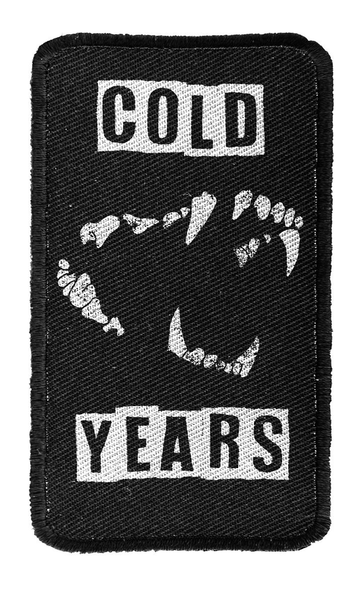 Cold Years - Fangs Back Patch