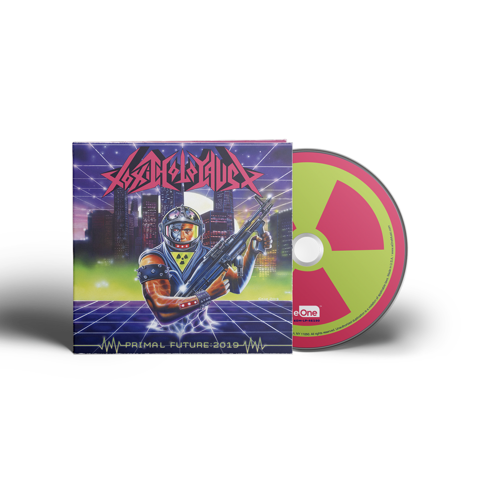 Toxic Holocaust - Primal Future:2019 - CD Digipak