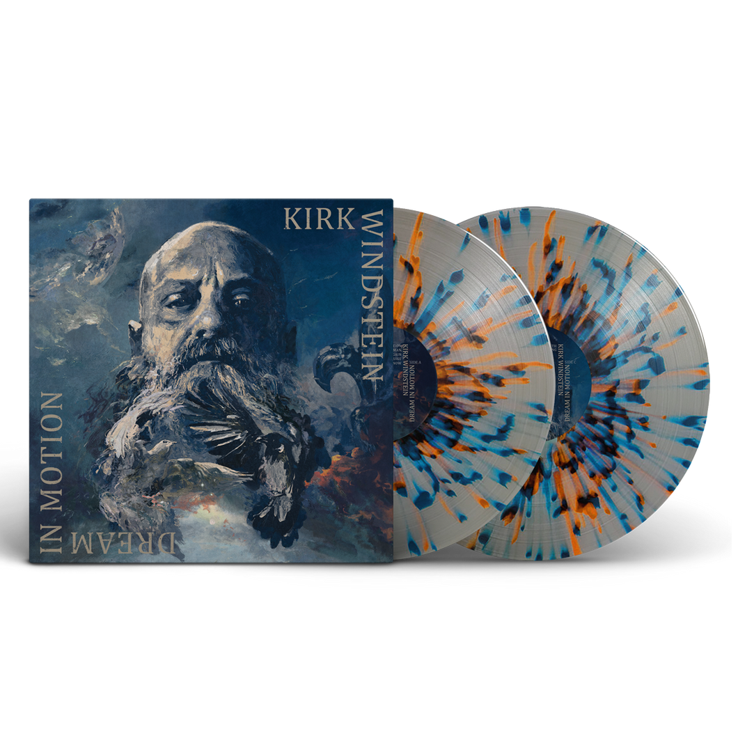 Kirk Windstein - Dream In Motion 180 Gram 2LP (Blue, Grey & Orange splatter pattern vinyl - Side D etched with band logo) with Gatefold Jacket + DL Card