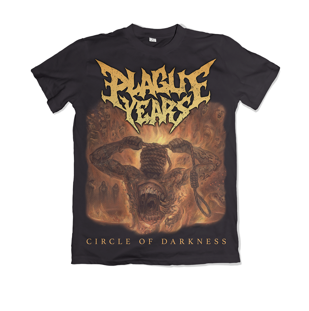 Plague Years 'Circile Of Darkness' T-Shirt