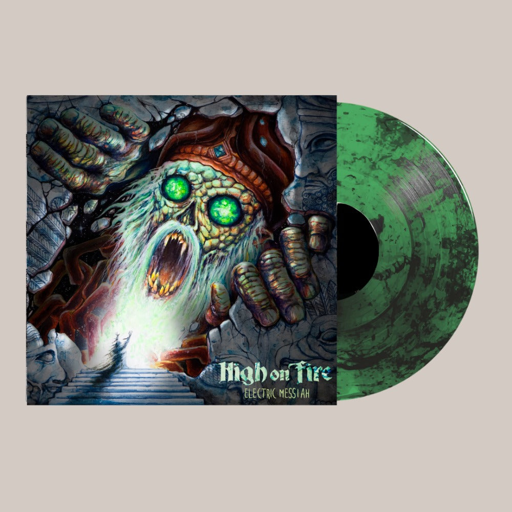 High On Fire - Electric Messiah - LP - Green Smoke