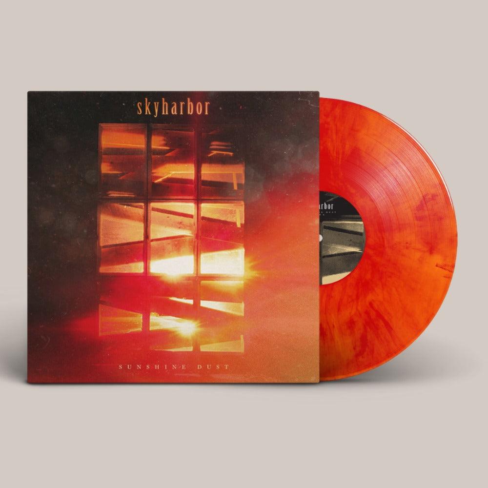 Skyharbor - Sunshine Dust - LP - Red Marble