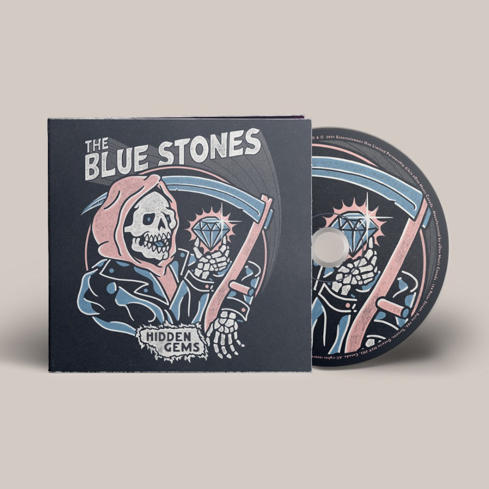 The Blue Stones - Hidden Gems - CD - Digi Pack