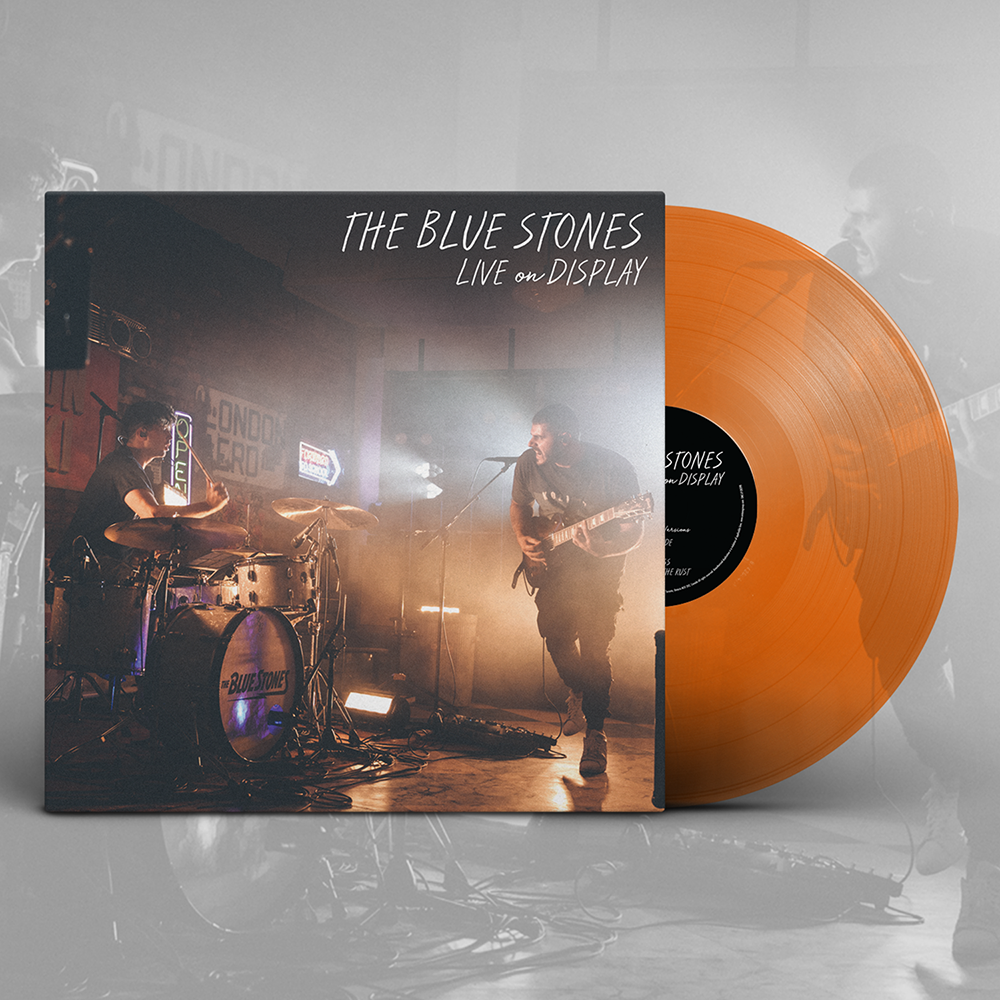 The Blue Stones - Live on Display EP - Vinyl - Translucent Orange Crush