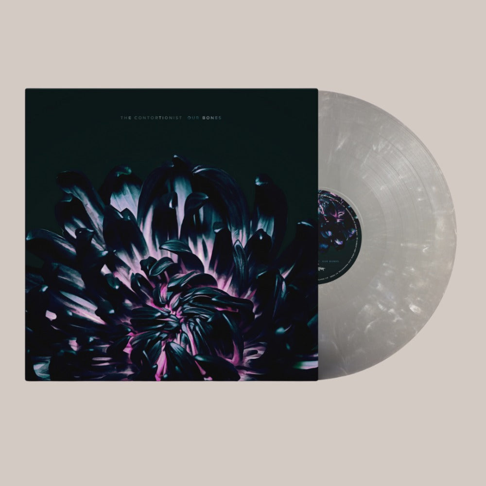 The Contortionist - Our Bones - LP - Opaque Grey and White Marble