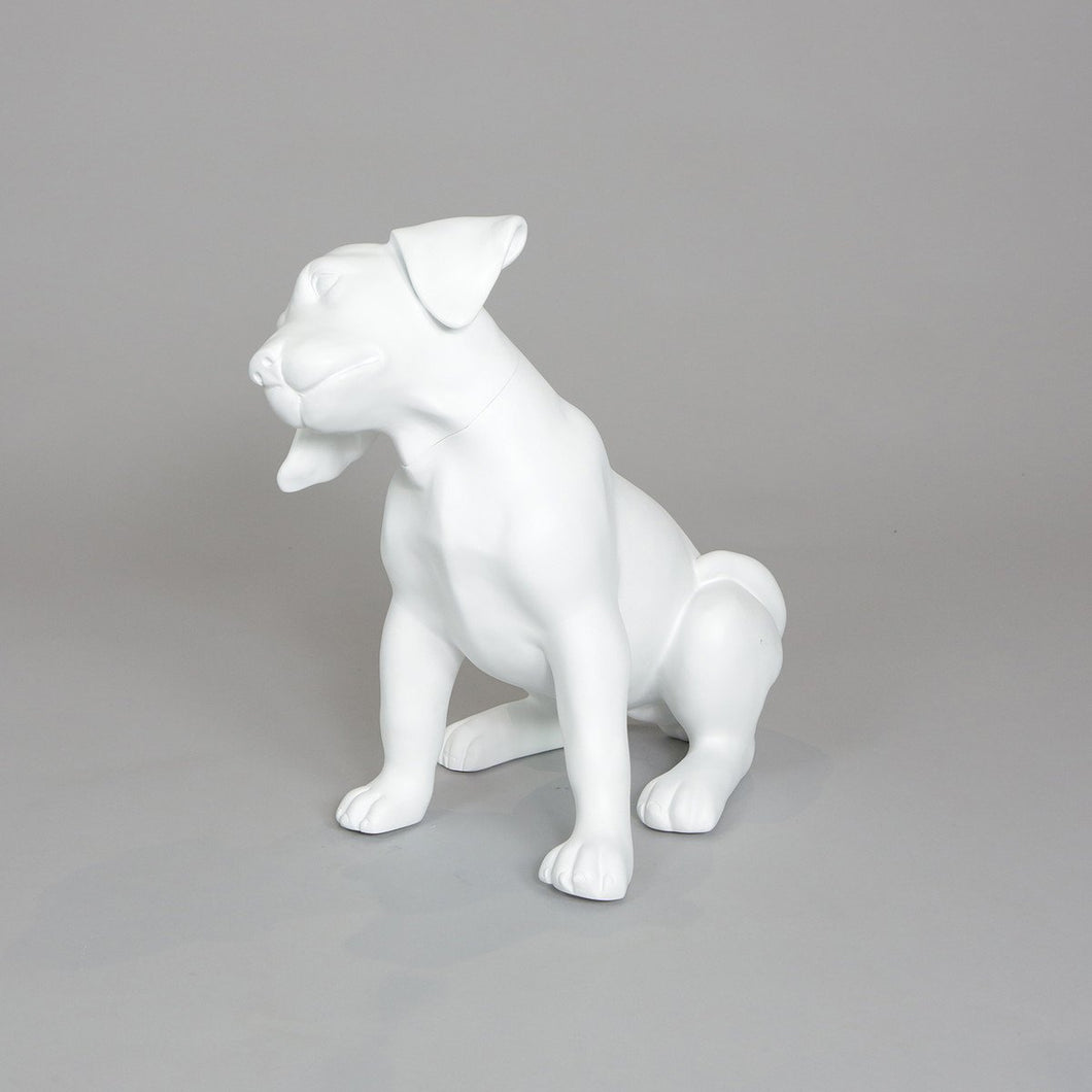 Labrador Puppy Dog Mannequin: Sitting