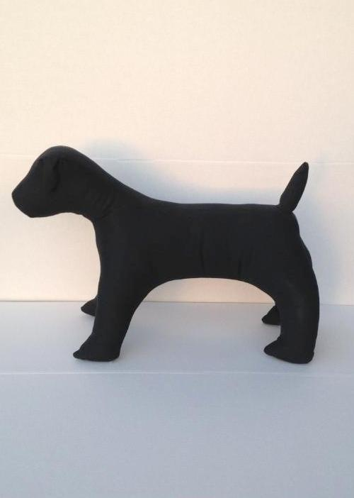 Medium Terrier Dog Mannequin: Black or White
