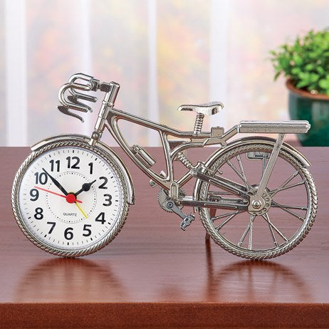 Tabletop Bicycle Clock