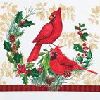 Printed Holiday Cardinal Kitchen Towels - Set of 2