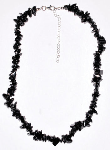 "18"" Shungite chip necklace"