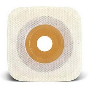 "SQU 405477 BX/10 SYNERGY STOMAHESIVE SKIN BARRIER,TO 1 1/8"" WHITE COLLAR"