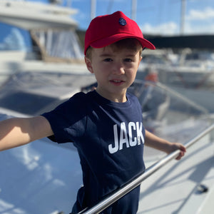 Kids' Navy JACK T Shirt