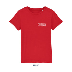 Kids' Red Kraken T Shirt