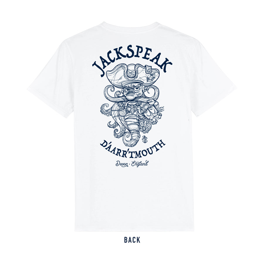 Men's White Pirate T Shirt