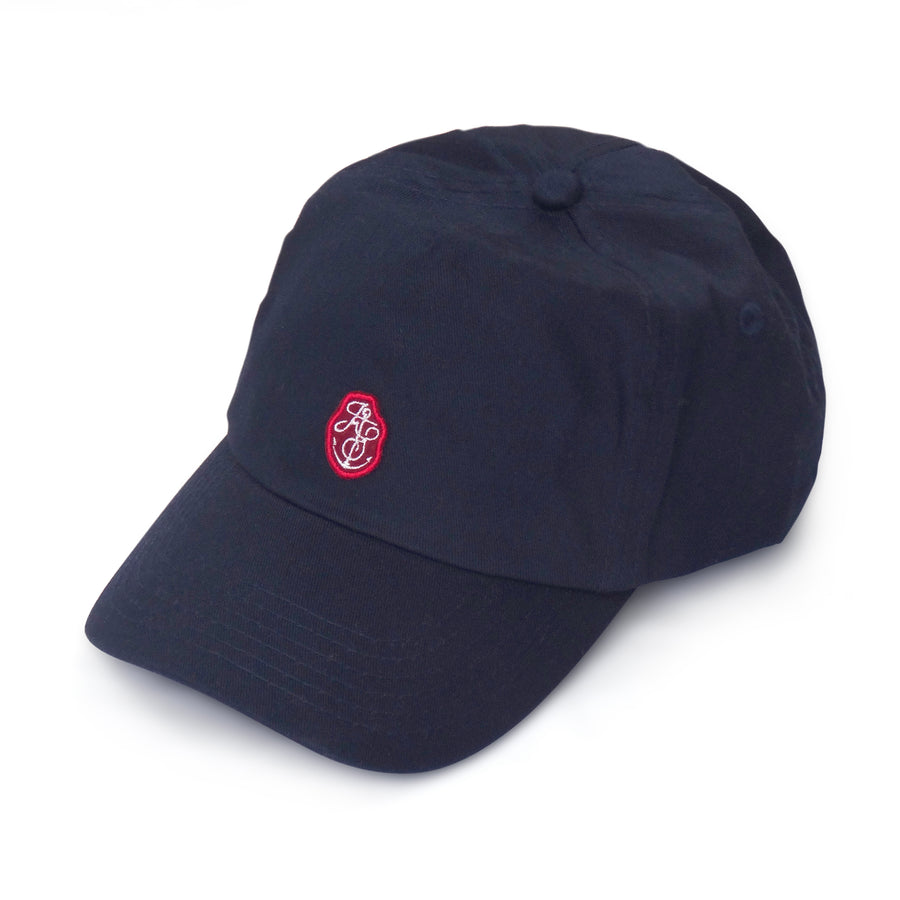 Kids Blue Cap Red Badge Front.jpg