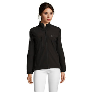 Ladies' Black Soft Shell Jacket